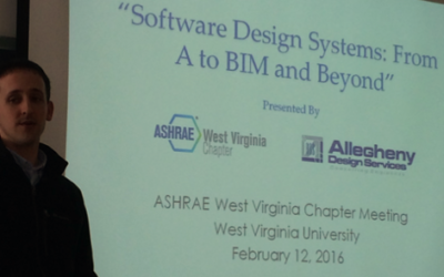 ADS Engineer Presented at the West Virginia ASHRAE Chapter