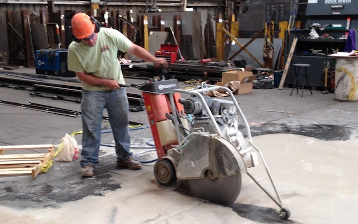 Cutting Holes In Concrete : Avoid costly errors when cutting structural members