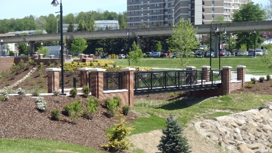 WVU Alumni Center Pedestrian Bridge