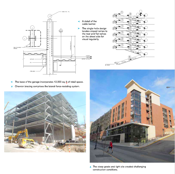Preferred Parking Modern Steel Construction