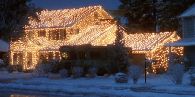 Bright & Festive for the Holidays!  Festoon Lighting
